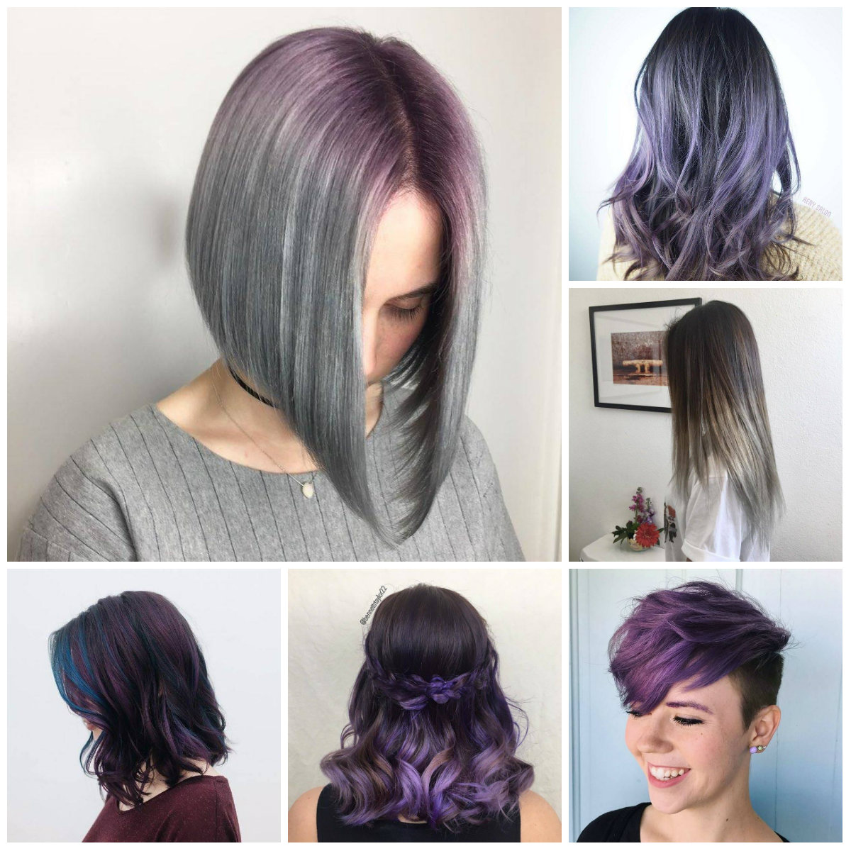 trends kurzhaarfrisuren 2019 haarfarben